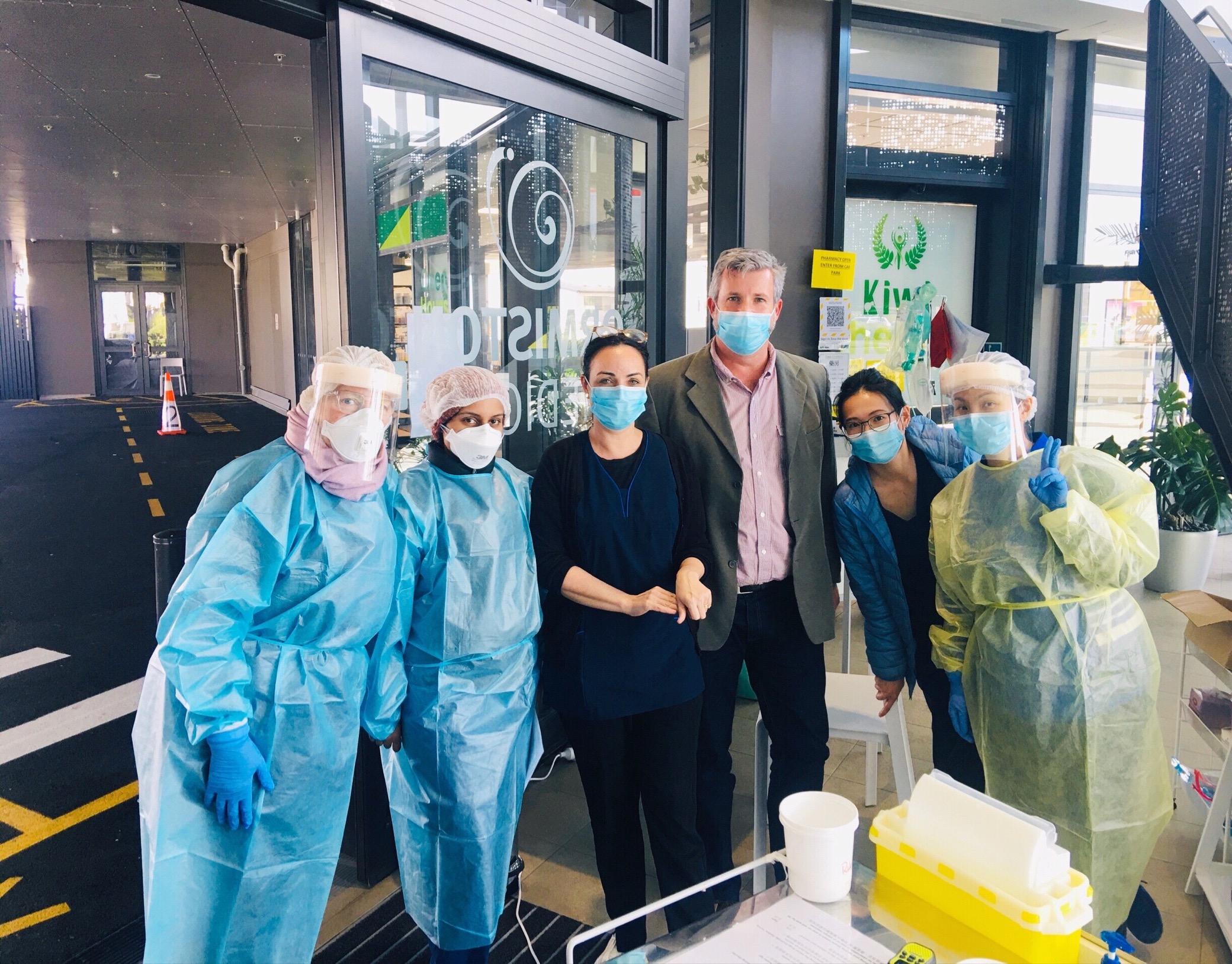 100% vaccinated team | Ormiston Medical